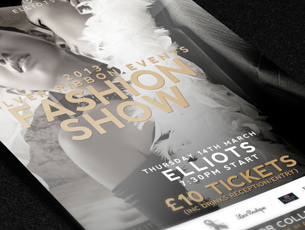 Fashion Show Flyers, Posters and Press
