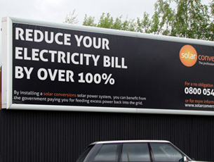 Solar Conversions Billboard